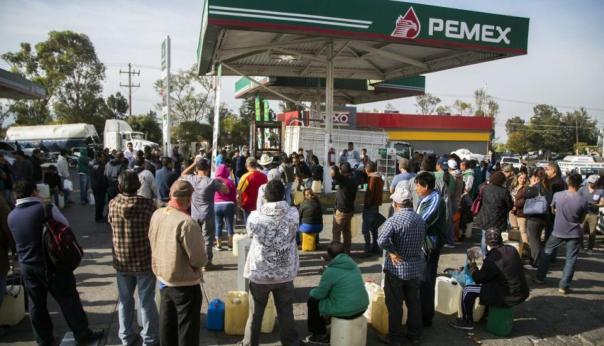 cola gasolina
